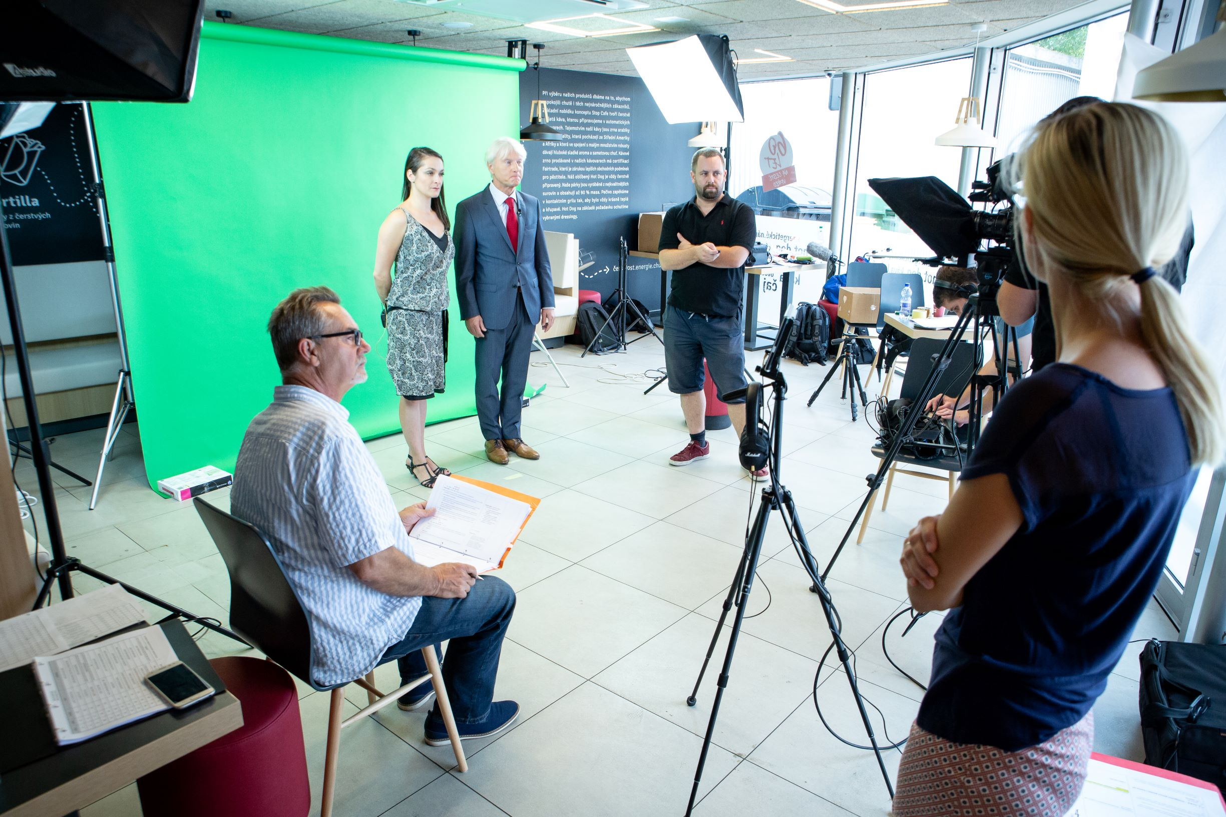 videoprodukce -natáčení videa